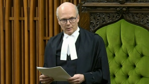 Speaker of the House Geoff Regan