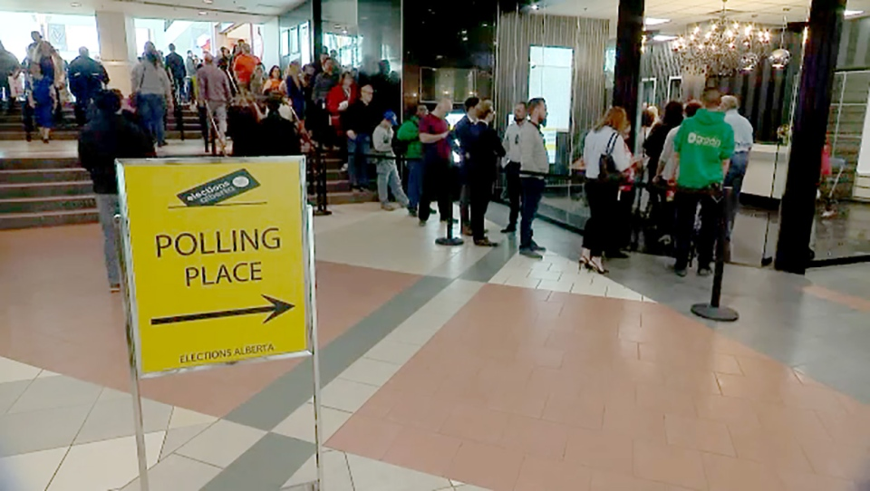 Record Number Of Advance Votes Cast In Alberta So Far