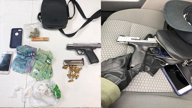 Orillia OPP seize drugs, cash and handgun after traffic stop