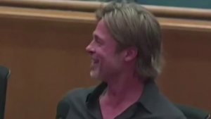 CTV Montreal: Brad Pitt is a handsome arts patron