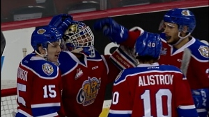 Edmonton Oil Kings advance to conference final.