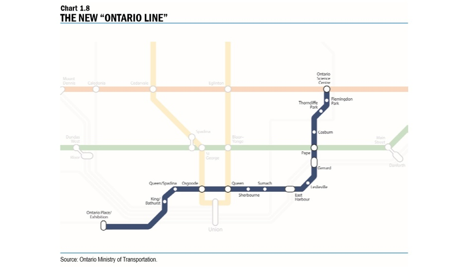 Toronto Subway Map App.Toronto Halts Most Work On Relief Line In Wake Of New Provincial