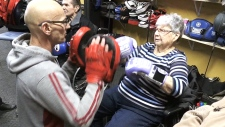Fitness class for seniors packs a punch