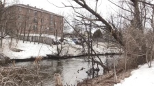 Junction Creek in Sudbury