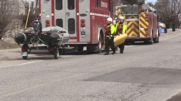 Sudbury emergency responders (Lyndsay Aelick/CTV Northern Ontario)