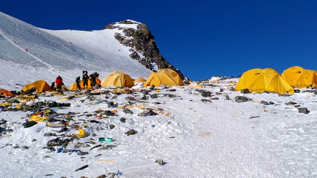 Nepal to send team to clean litter, retrieve bodies on Mount Everest