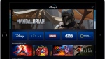 This image provided by Disney shows a product image of Disney Plus on a tablet. The video steaming service has been in the works for more than year, but Thursday, April 11, 2019, marked the first time that the longtime entertainment powerhouse has laid out plans for its attack on Netflix and a formidable cast of competitors, including Amazon, HBO Go and Showtime Anytime. (Disney via AP)