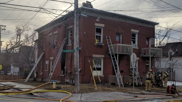 Fire in Chinatown rooming house