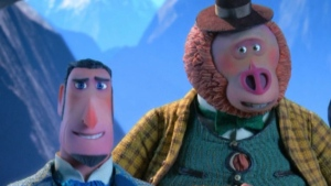 "The a scene from the new stop-motion animated adventure film ""Missing Link"" from Laika."