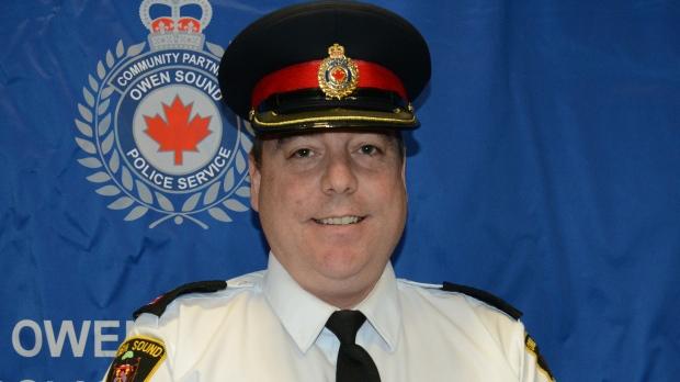 New North Bay deputy police chief Michael Daze