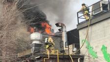 Two-alarm fire in Byward Market