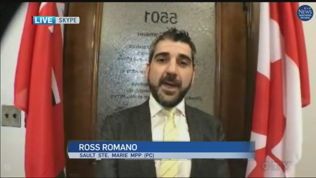 Sault Ste. Marie MPP Ross Romano on Ontario budget