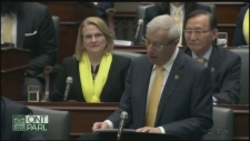 Ontario Finance Minister Vic Fedeli, Nipissing MPP