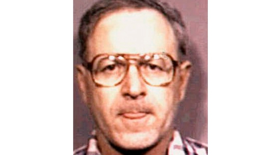 This photo provided by Caddo Sheriff's Office shows former Catholic priest Gilbert Gauthe. The Lafayette Diocese employed the first widely known abuser, Gauthe, who pleaded guilty in 1985 to abusing 11 boys and testified that he had abused dozens while serving at four churches in the diocese. (Caddo Sheriff's Office via AP)