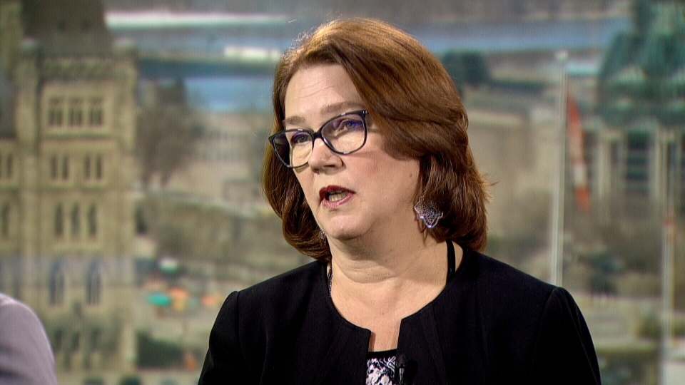 Independent MP Jane Philpott on CTV's Question Period.