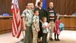 Syrian family becomes Canadian citizens Lethbridge