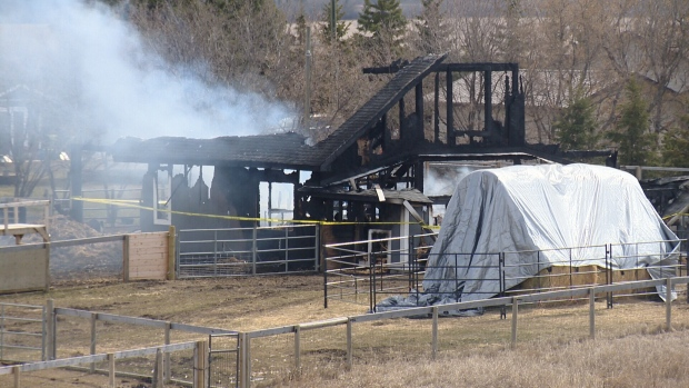 FARRM receives $10K donation from non-profit to rebuild burnt down barn