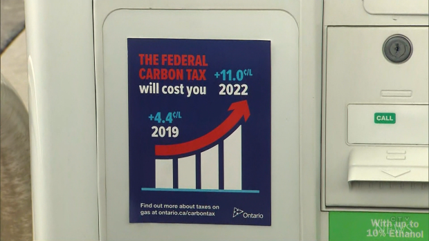 Fines for gas pumps without carbon tax stickers