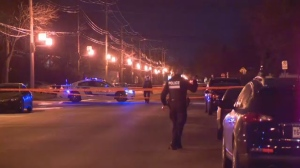 Police say a 20-year-old man was stabbed in the upper body during an altercation at the corner of Mentana and Napoleon Sts. in the Plateau. (CTV Montreal)