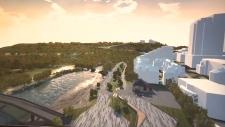 calgary, eau claire, development, riverwalk, flood