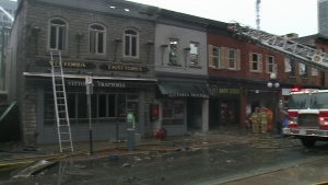 Investigation continues into ByWard Market fire