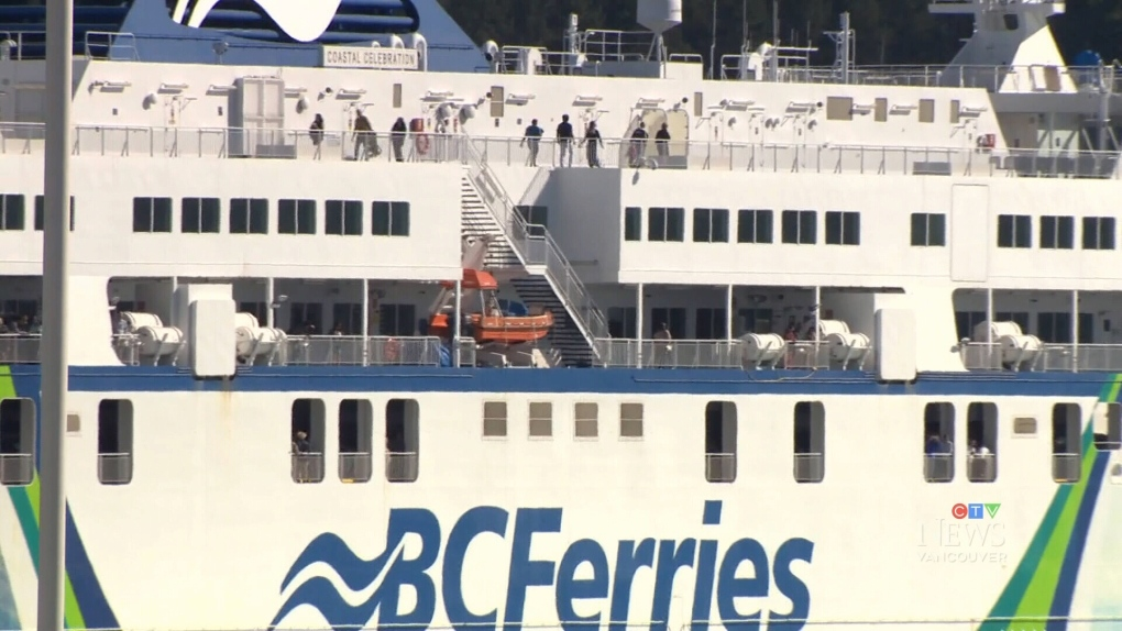 Wine, beer to be sold aboard BC Ferries
