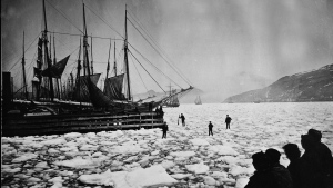 Boats in the ice in St. John's harbour are shown in a 1926 file photo. THE CANADIAN PRESS/National Archives of Canada/S.H. Parsons