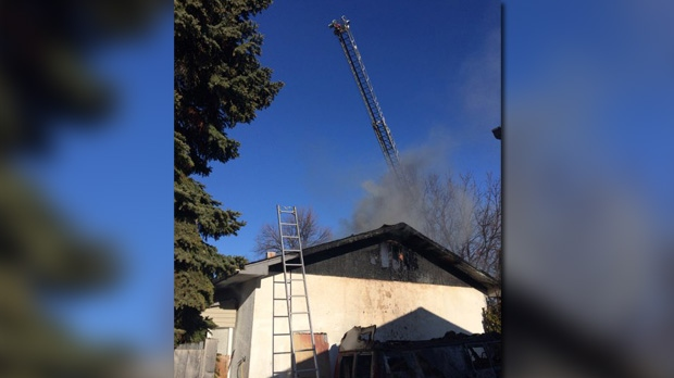 Fire crews responded to a report of a fire on St.