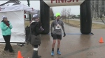 Runners support children with hearing impairments