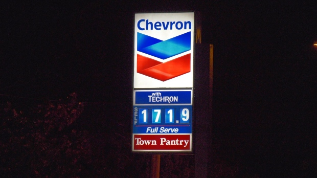 Gas price in Vancouver