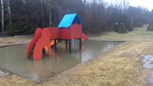 Heavy rainfall overnight in Ottawa caused minor flooding around the region.