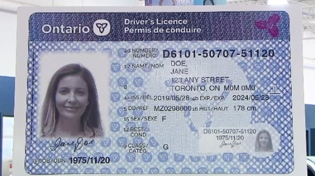 Ctv Driver's Licences Plates Toronto New News Unveils And Ontario