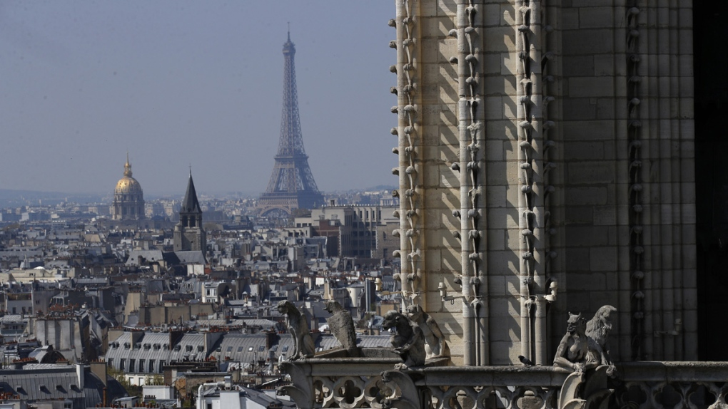 Fire at historic Notre Dame cathedral in Paris