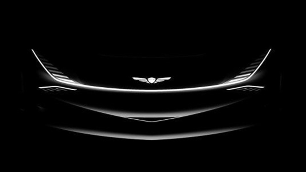 Genesis teases compact SUV concept
