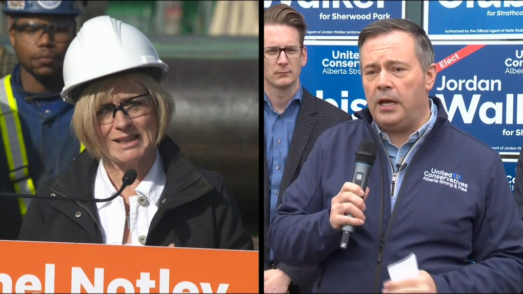 Notley, Kenney