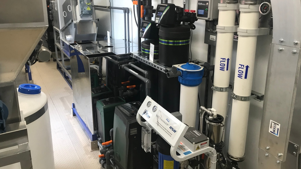 Device looks to turn waste into drinking water