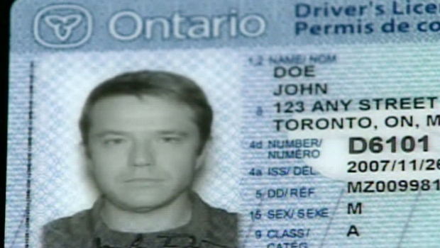 Ontario's new high-tech drivers licence