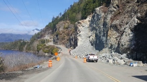 The closure will restrict all road access to the communities of Tofino and Ucluelet during daylight hours. (CTV News)