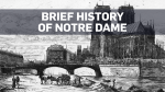 A brief history of Notre Dame Cathedral