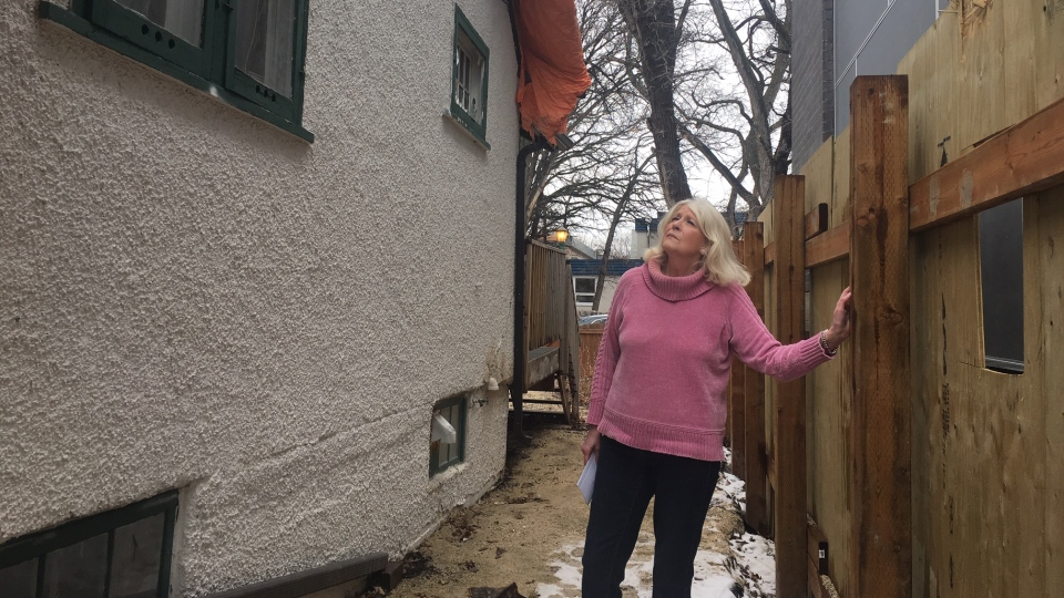 Yvonne Katz, 75, told CTV News Monday her roof was damaged in October 2017, about 18 months ago. (Beth Macdonell/CTV News)