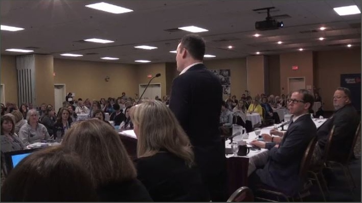 Nova Scotia Health Minister faced some tough questions from nurses at the Nova Scotia Nurses Union annual general meeting in Truro on Monday.