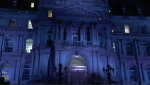 Montreal city hall Notre Dame tribute
