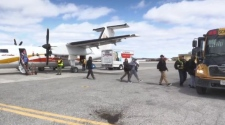 Evacuees from Kashechewan arrive in Timmins