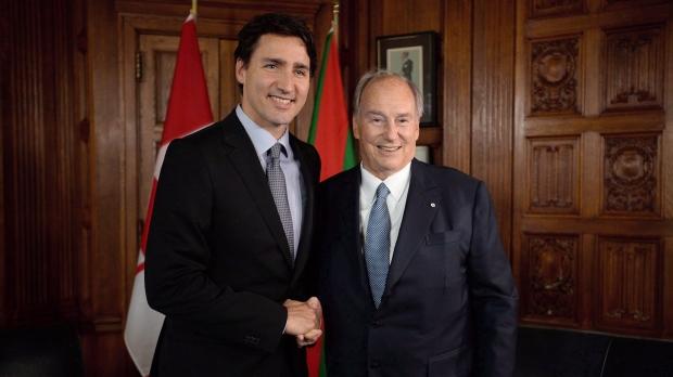 Trudeau Aga Khan