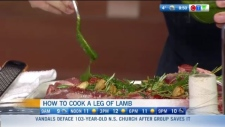How to cook leg of lamb for Easter