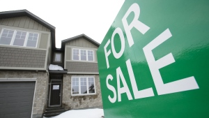 A home for sale is shown in Beckwith, Ont., on Wednesday, Jan. 11, 2018. THE CANADIAN PRESS/Sean Kilpatrick
