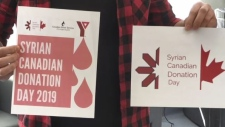 Syrians across Canada give back by donating blood