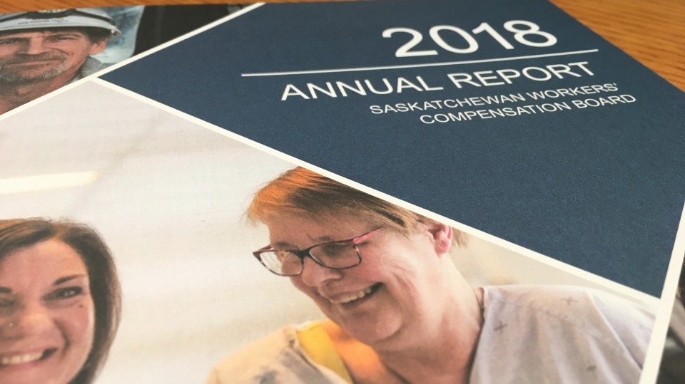 Saskatchewan Workers' Compensation Board annual 2018 report