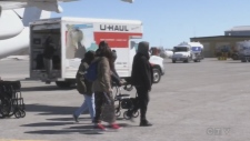 CTV Northern Ontario's Drew McMillin looks at the work that goes into making Timmins a temporary home for Kashechewan evacuees.