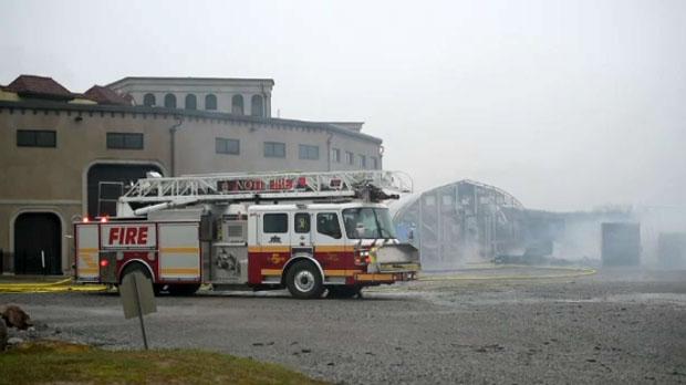Colaneri Estate Winery fire